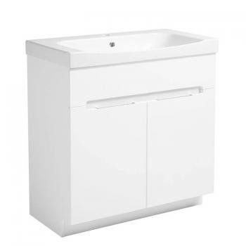 Roper Rhodes Diverge Gloss White 800mm Freestanding Unit & Basin