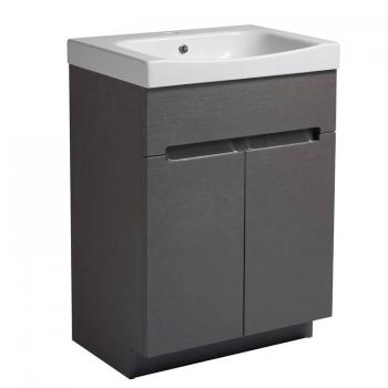 Roper Rhodes Diverge Charcoal Elm 600mm Freestanding Unit & Basin