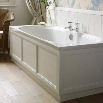 Heritage Dorchester Double Ended Acrylic Bath - 1700 x 750mm