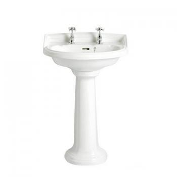 Heritage Dorchester Medium Basin & Pedestal