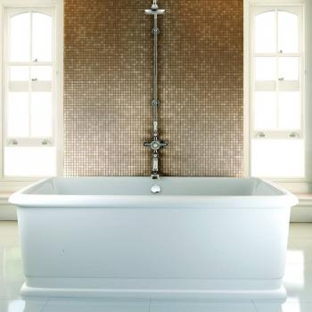 Burlington London Rectangular Soaking Tub