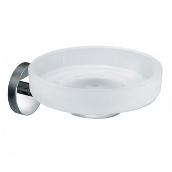 Vado Eclipse Frosted Glass Soap Dish & Holder