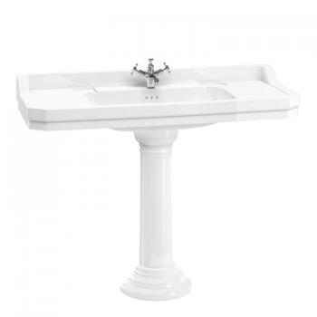 Burlington Edwardian 1200m Basin & Regal Pedestal