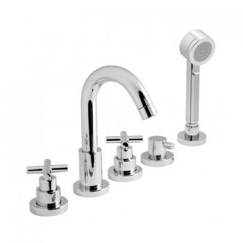 Vado Elements 5 Hole Bath Shower Mixer With Kit