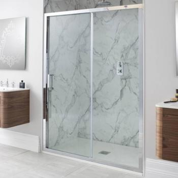 Simpsons Elite Single Sliding Shower Door