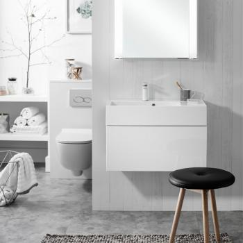 Bauhaus Elite 70 White Gloss Vanity Unit & Basin