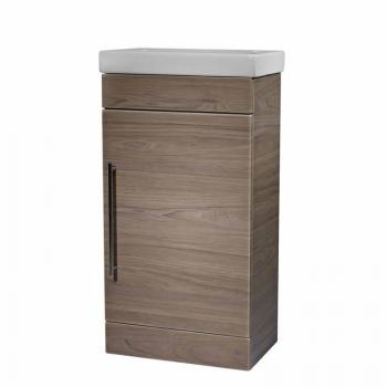Roper Rhodes Esta Dark Elm 460mm Freestanding Unit & Basin