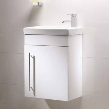 Roper Rhodes Esta Gloss White 460mm Wall Mounted Unit & Basin