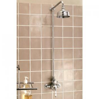 Imperial Victorian Exposed Thermostatic Shower Valve, Riser, Arm & Head