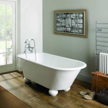 BC Designs Fitzroy Cian Solid Surface Freestanding Bath