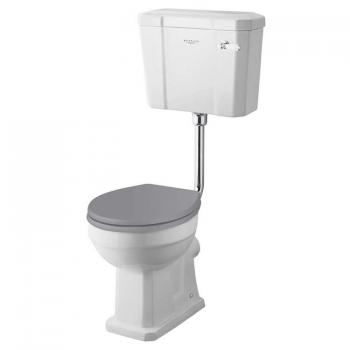 Bayswater Fitzroy Low Level Comfort Height Toilet & Cistern
