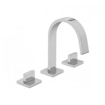 Vado Geo 3 Tap Hole Deck Mounted Basin Mixer