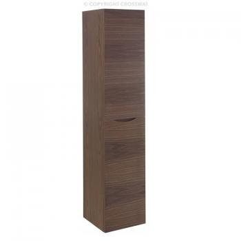 Bauhaus Glide II American Walnut Wall Hung Tower Storage Unit