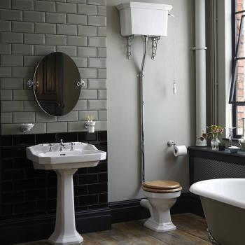 Heritage Granley High Level Toilet & Basin Set