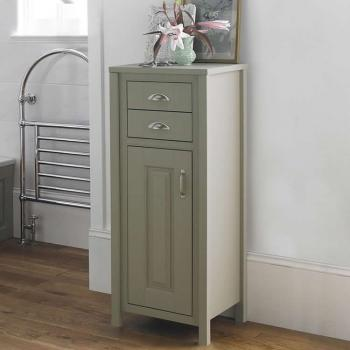 Old London Stone Grey 450mm Tall Boy Storage Unit