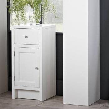 Roper Rhodes Hampton Chalk White 400mm Storage Unit