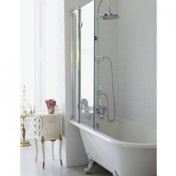 Burlington Hampton Showering Bath & Feet - Left Hand