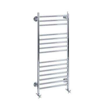 Heritage Dolebury Chrome Heated Towel Rail