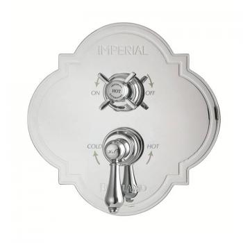 Imperial Firenze Dual Control Valve With Edwardian and Regent Controls