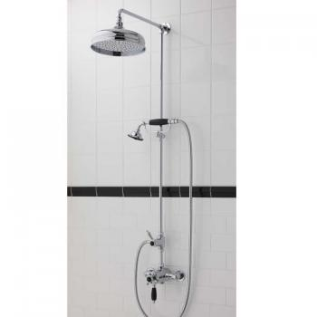 Imperial Westminster Exposed Shower Valve With Rigid Riser Kit, Head & Handset