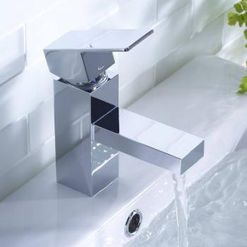 Tavistock Index Basin Mixer With Click Waste