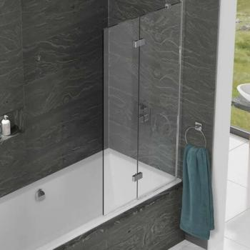 Kudos Inspire Two Panel Infold Bath Screen