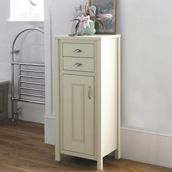 Old London Ivory 450mm Tall Boy Storage Unit