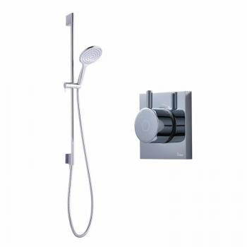 Crosswater Kai Pack 02 Single Outlet Digital Shower Valve & Shower Kit