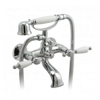Vado Kensington Wall Mounted Bath Shower Mixer With Kit