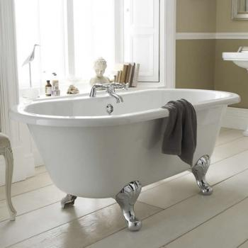Hudson Reed Kingsbury 1500mm Double Ended Freestanding Bath