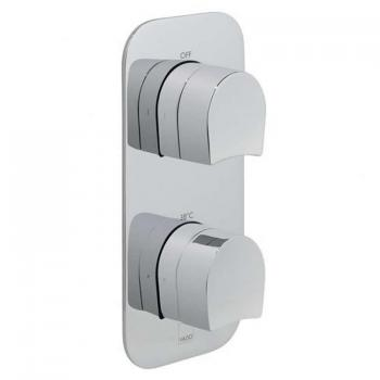 Vado Kovera Thermostatic Shower Valve With Two Outlets
