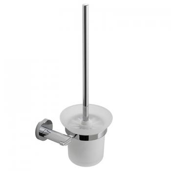 Vado Kovera Toilet Brush & Frosted Glass Holder