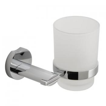 Vado Kovera Frosted Glass Tumbler & Holder
