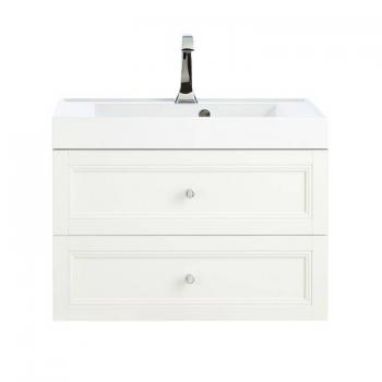 Heritage Caversham Oyster Wall Hung 2 Drawer Vanity Unit & Basin