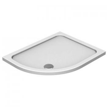 Kudos Kstone Offset Quadrant 45mm Shower Tray & Waste