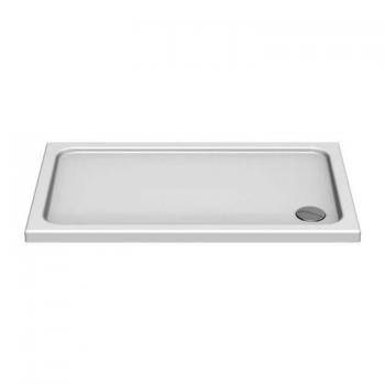 Kudos Kstone Rectangle 1100mm 45mm Shower Tray & Waste