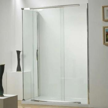 Kudos Infinite Semi Frameless Straight Sliding Shower Door