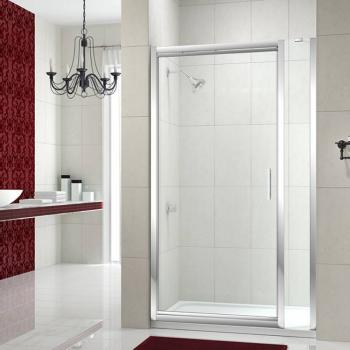 Merlyn 8 Series Infold Shower Door With Inline Panel