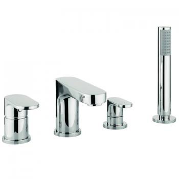Adora Style 4 Hole Set Bath Shower Mixer