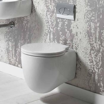 Roper Rhodes Memo 510mm Wall Hung WC & Soft Close Seat