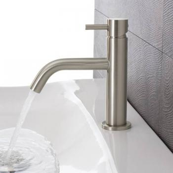 Crosswater Mike Pro Brushed Stainless Steel Basin Monobloc