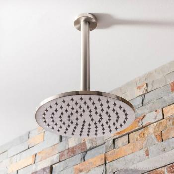 Crosswater MPRO Brushed Stainless Steel 200mm Fixed Shower Head