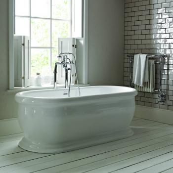 Heritage Derrymore Double Ended Roll Top Freestanding Bath