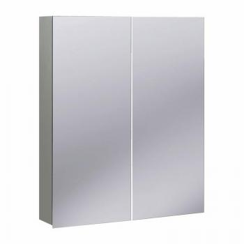 Bauhaus 600mm Aluminium Mirrored Cabinet