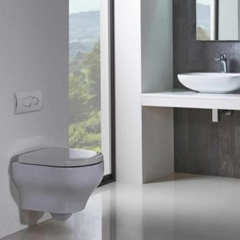 Roper Rhodes Note 500mm Wall Hung WC & Soft Close Seat