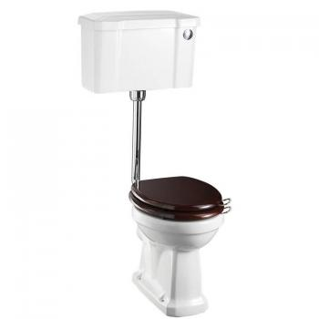 Burlington Regal Low Level Toilet With Push Button Cistern
