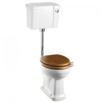 Burlington Slimline Low Level Toilet With Front Button