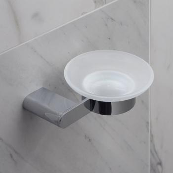 Vado Photon Frosted Glass Soap Dish & Holder