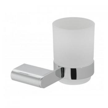 Vado Photon Frosted Glass Tumbler & Holder