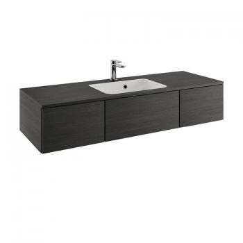 Bauhaus Pier 1200mm Steel Wall Hung Console Unit & Basin